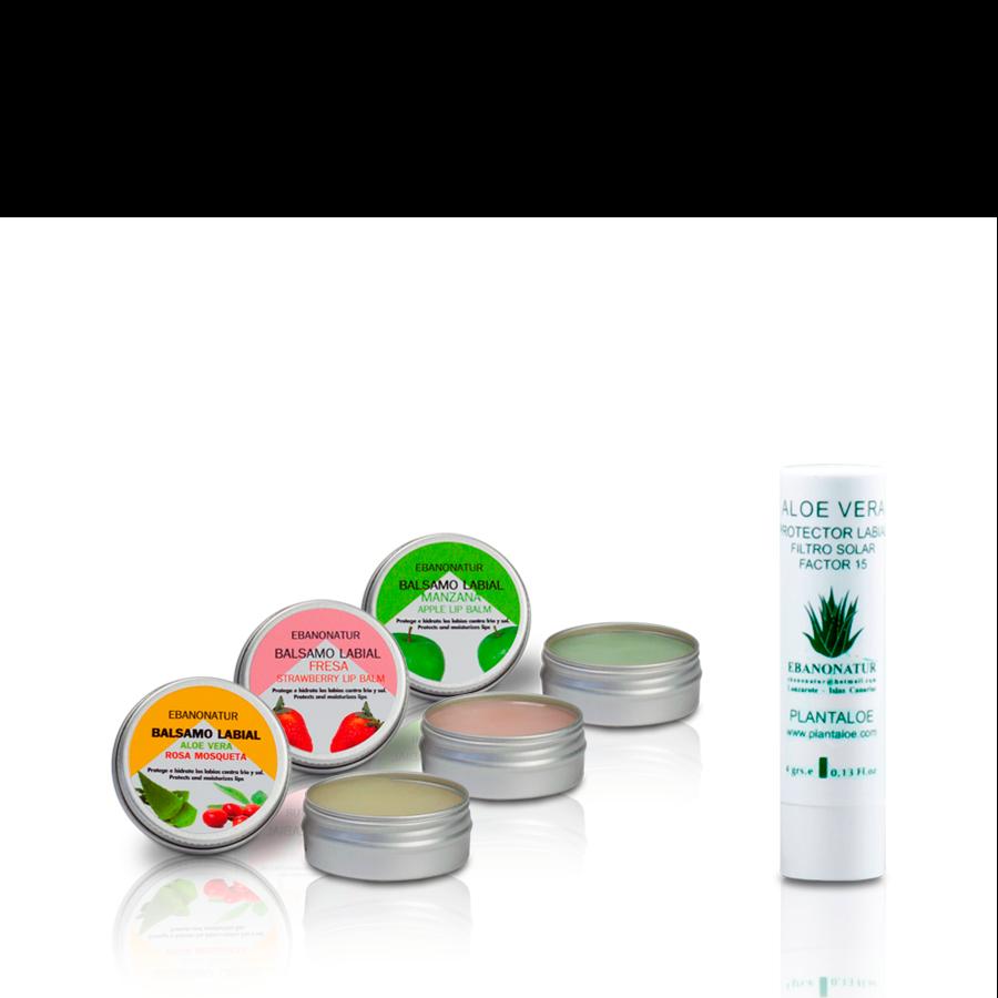 4-teiliges Lippenpflege Set
