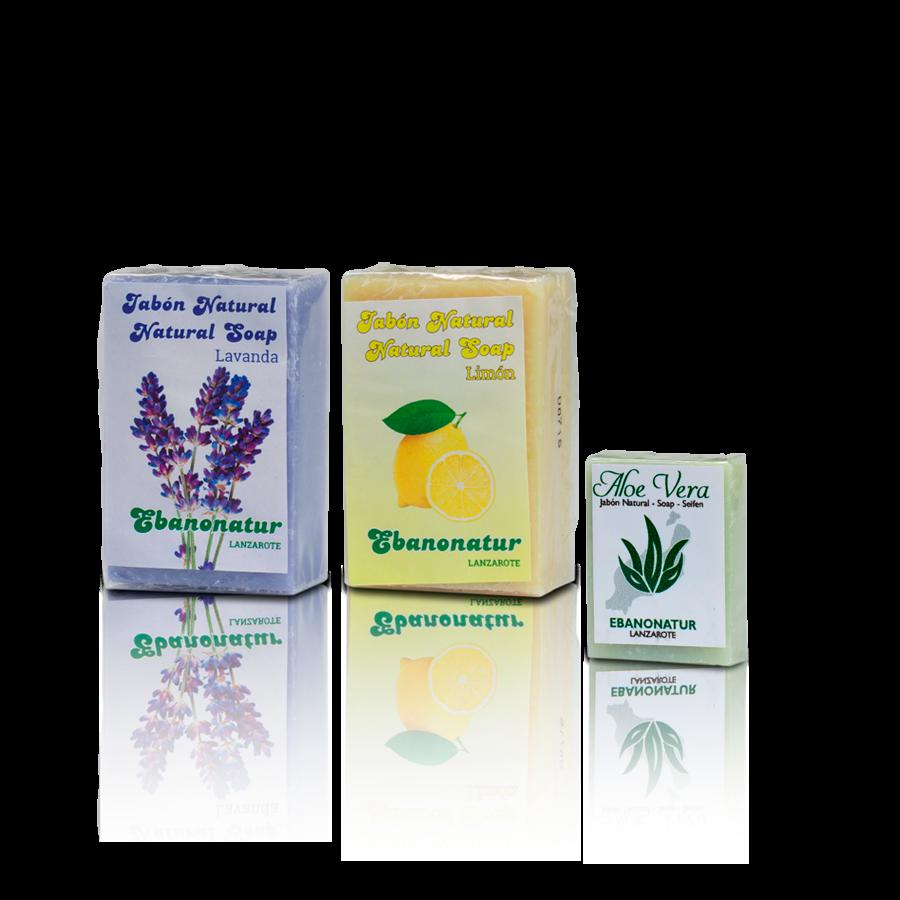 Seife Lavendel und Limone - 1 x Seife Aloe Vera 25 g Gratis