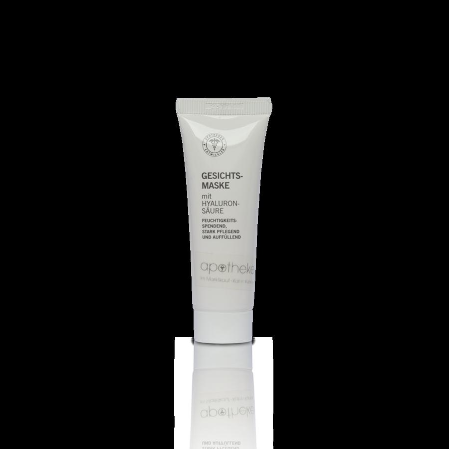 Gesichtsmaske mit Hyaluronsäure