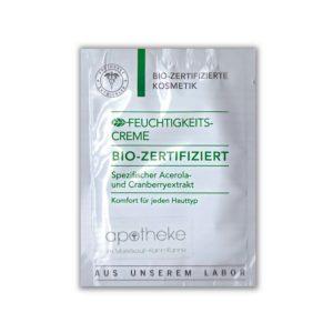 Feuchtigkeits Creme Bio Zertifiziert - Probe - Apotheke im Marktkauf Shop