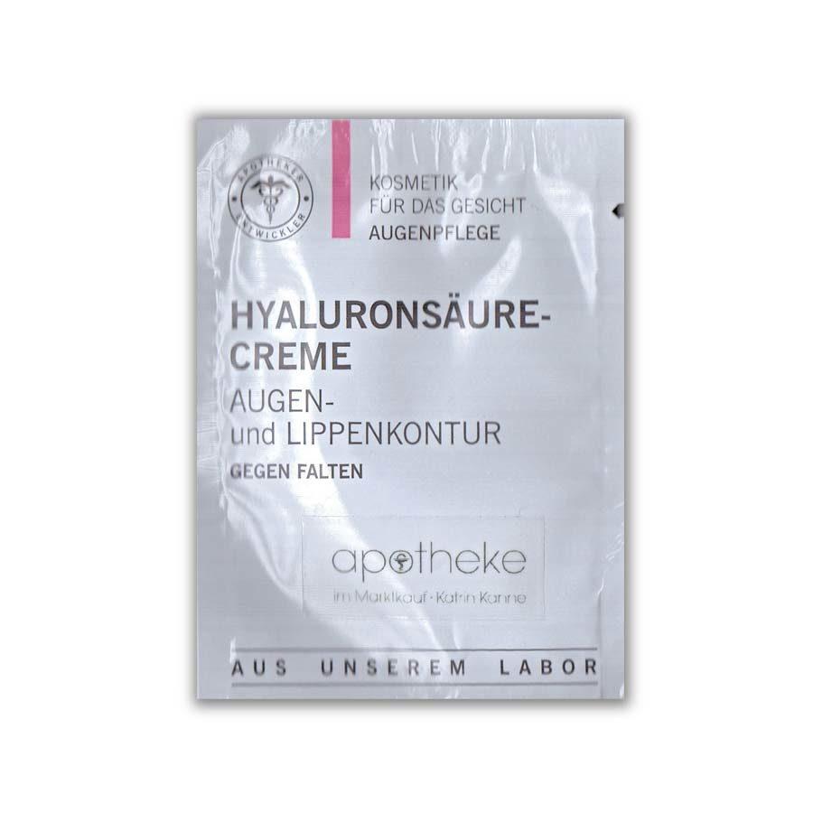 Hyaluronsäure Creme Augen Lippen- Probe - Apotheke im Marktkauf Shop