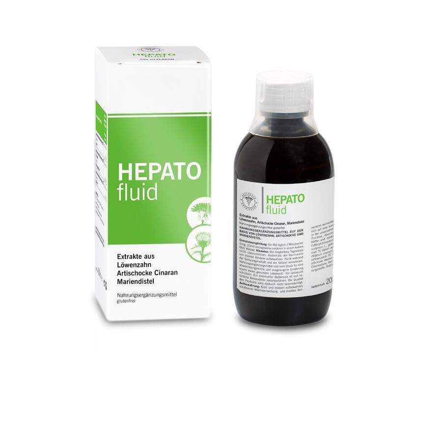 Hepato Fluid Nahrungsergänzungsmittel auf der Basis von Löwenzahn, Artischocke und Mariendistel - Apotheke im Marktkauf Shop