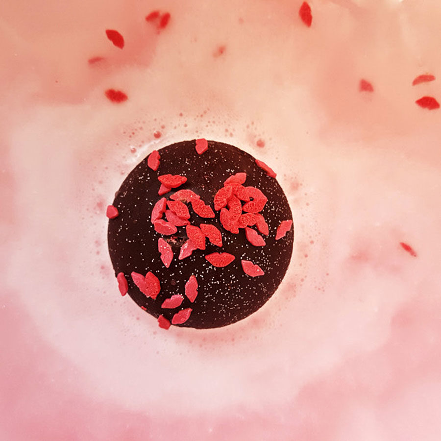 Chocolate Kisses Badekugel - Bomb Cosmetics
