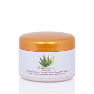 Aloe Vera Gesichtscreme mit Hagebutte