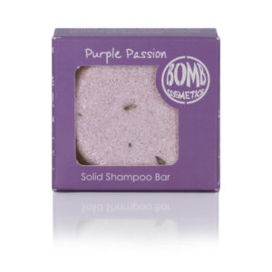 Purple Passion Shampoo Bar vom Bomb Cosmetics