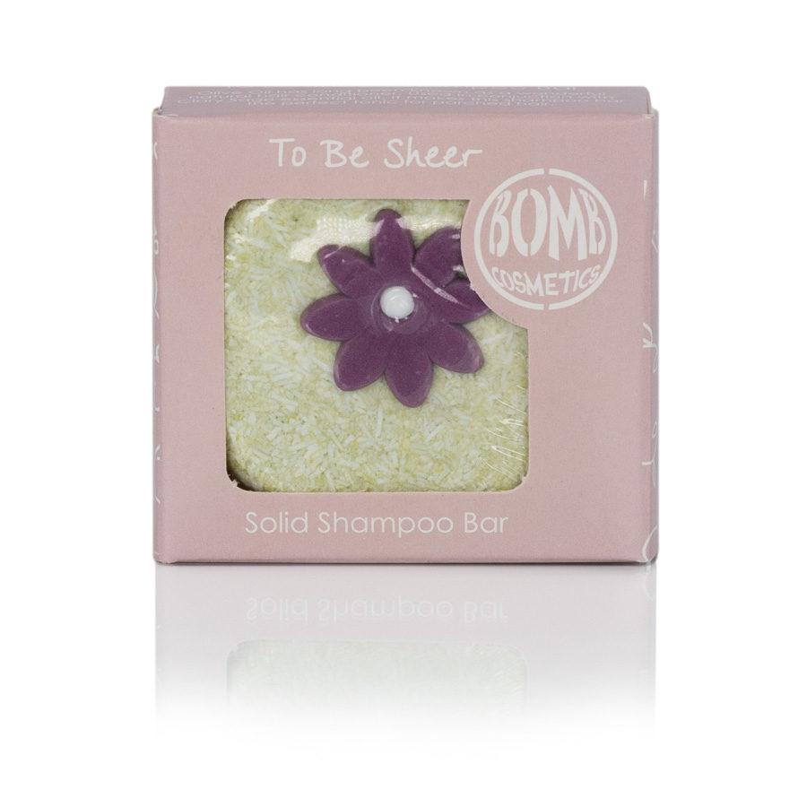 To Be Sheer Shampoo Stein von Bomb Cosmetics - Apotheke im Marktkauf Shop