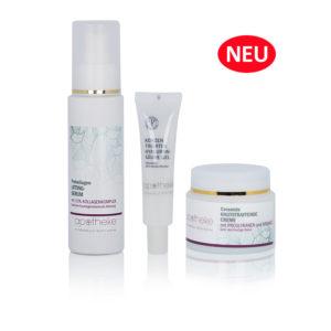 Anti Aging Set mit Prokollagen Lifting-Serum, Konzentriertem Hyaluronsäure Gel und Ceramide Hautstraffende Creme - Apotheke im Marktkauf Shop