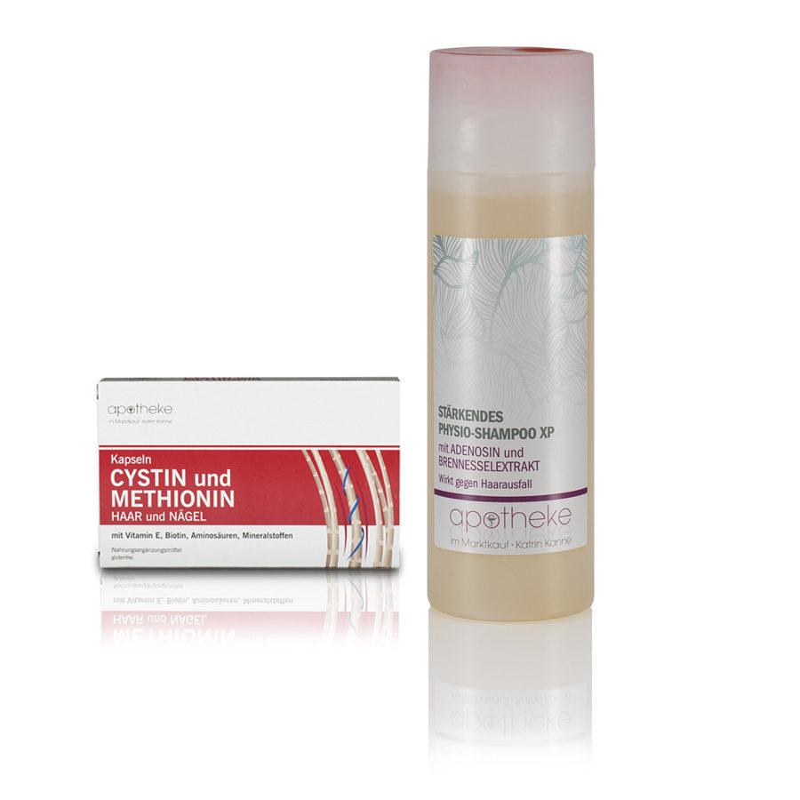 Physio Shampoo xp und Cystin und Methionin - Apotheke im Marktkauf Shop