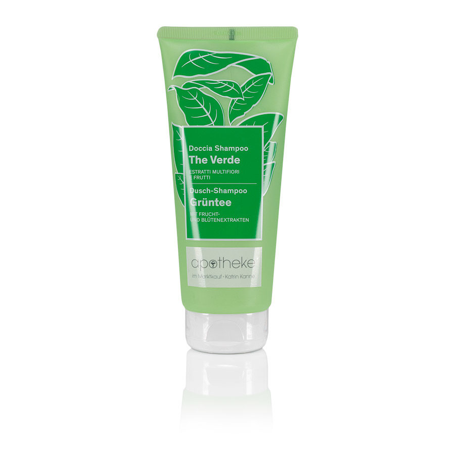 Apotheke im Marktkauf - Belebende Dufterlebnisse Dusch-Shampoo Grüntee