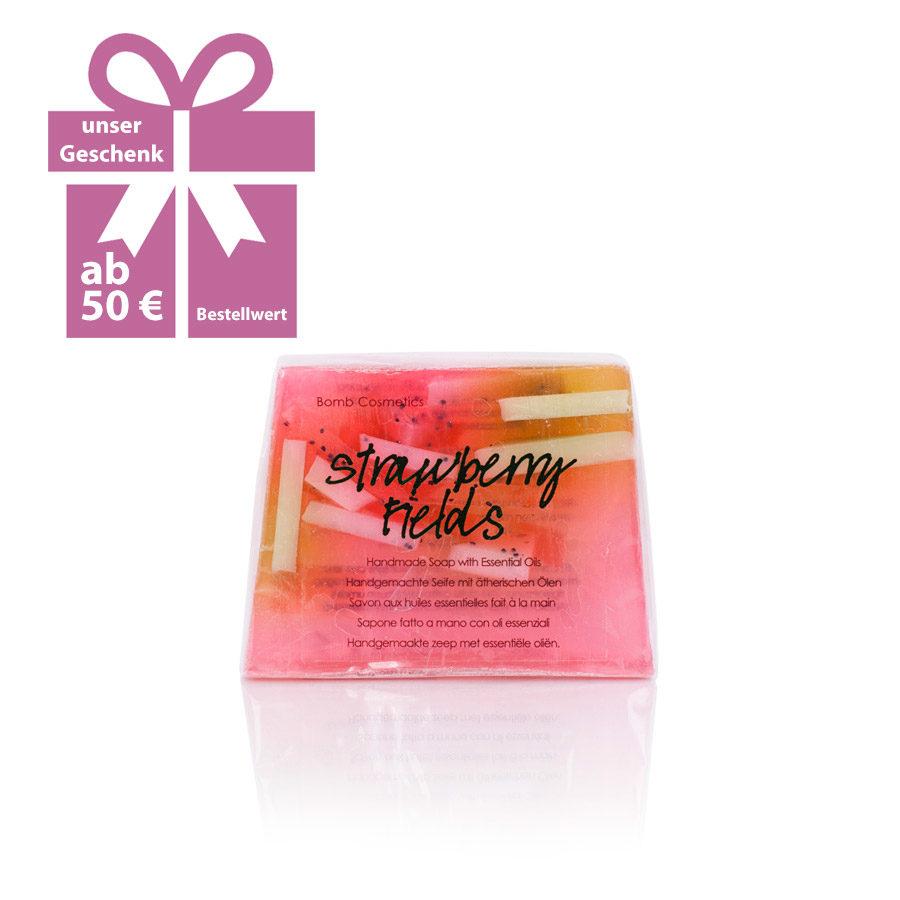 Strawberry Fields Seife von Bomb Cosmetics 100 g