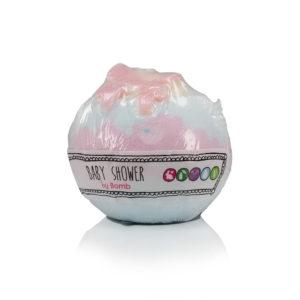 Baby Shower Blaster Badekugel - Bomb Cosmetics