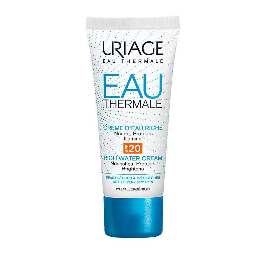 Uriage - Hydro-Aktiv-reichhaltige Creme mit Lichtschutzfaktor SPF 20 - Apotheke im Marktkauf Shop