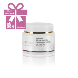 Apotheke im Marktkauf – Hyaluron – Feuchtigkeitsspendende Creme mit Omega 6 - Geschenk