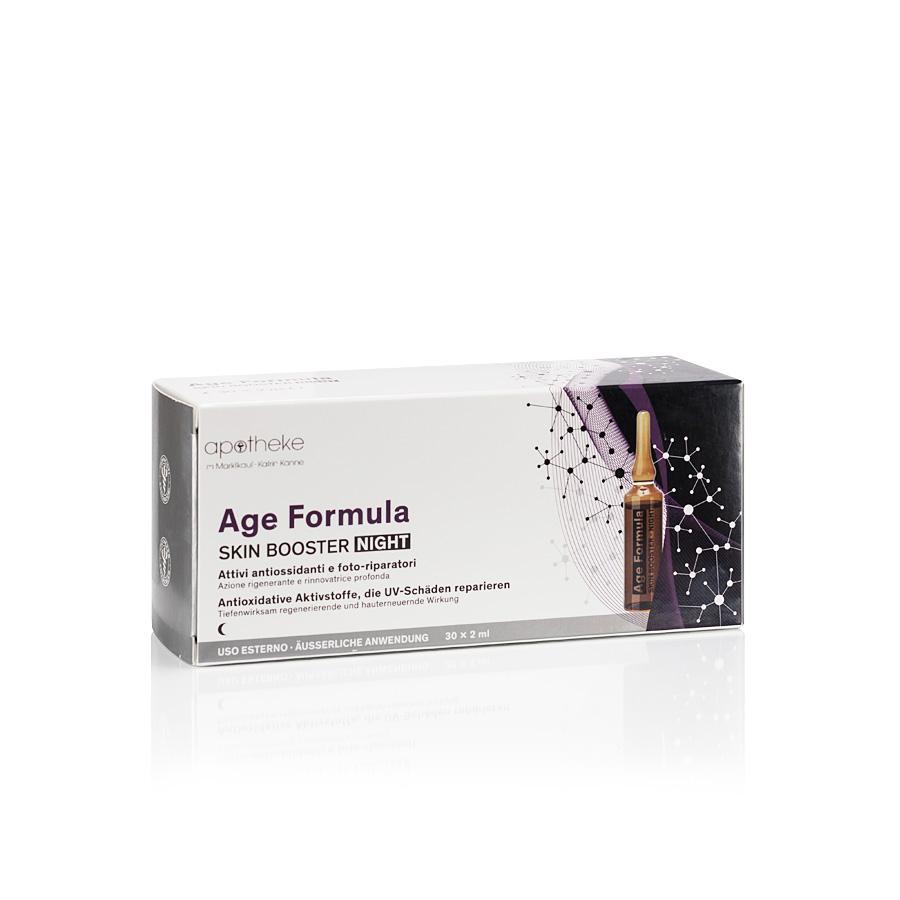 Age Formula Skin Booster Night - Ampullen für das Gesicht - 30 Ampullen