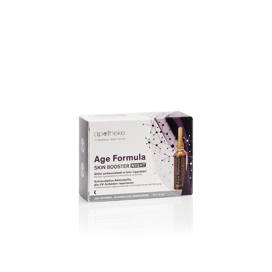 Age Formula Skin Booster Night - Ampullen für das Gesicht - 10 Ampullen