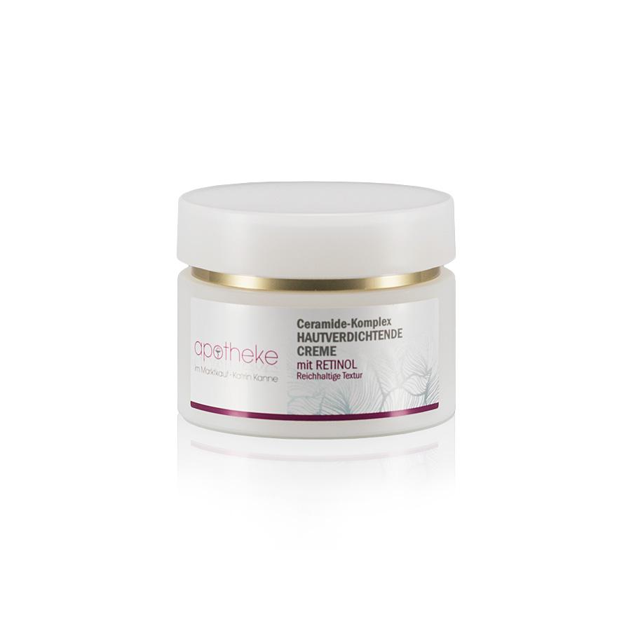 Ceramide-Komplex Hautverdichtende Creme mit Retinol - reichhaltige Textur