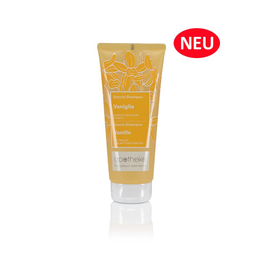 Apotheke im Marktkauf - Belebende Dufterlebnisse Dusch-Shampoo Vanille - 100 ml