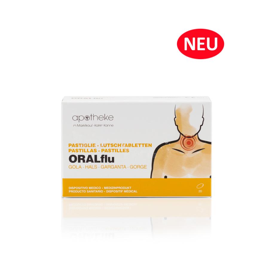 Lutschtabletten Oralflu Hals - Apotheke im Marktkauf Shop