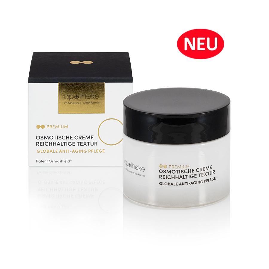 Apotheke im Marktkauf - Osmotische Creme reichhaltige Textur - 50 ml mit Refill System