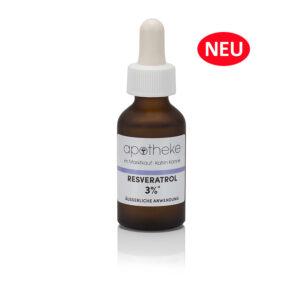 Resveratol 3% - Konzentrierter Aktivstoff– 20 ml Glasflakon mit Pipette