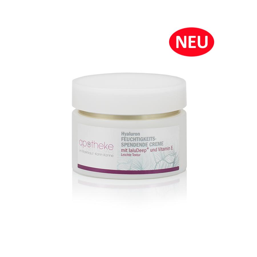 Apotheke im Marktkauf - Hyaluron Feuchtigkeitsspendende Creme mit IaluDeep® und Vitamin E